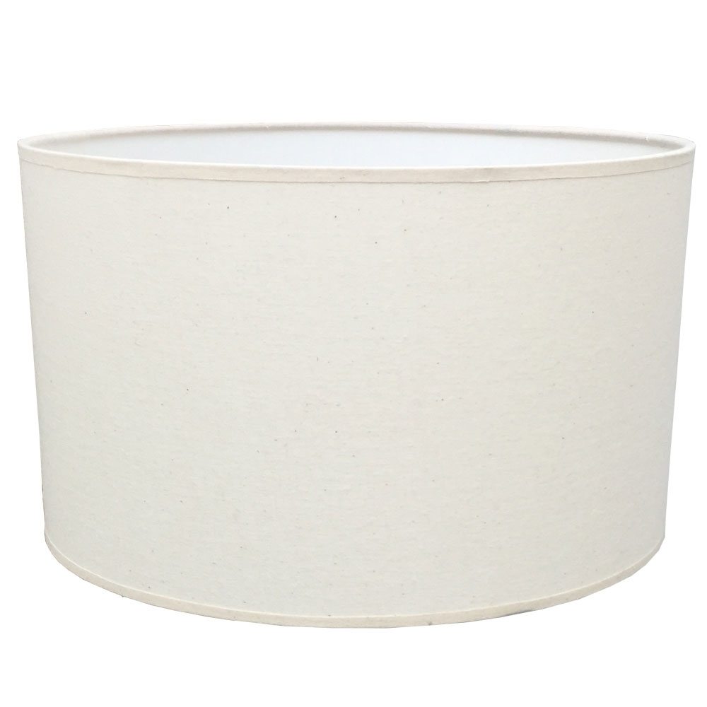 Drum Table Lampshade Porcelain Fleck